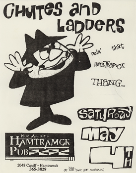 Poster for 05.04.1991 - Hamtramck, MI