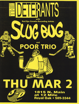Poster for 03.02.1995 - Royal Oak, MI