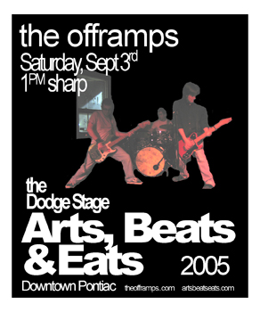 Poster for 09.03.2005 - Pontiac, MI