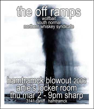 Poster for 03.02.2006 - Hamtramck, MI