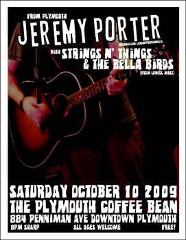 Poster for 10.10.2009 - Plymouth, MI