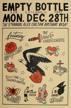 Poster for 12.28.2009 - Chicago, IL