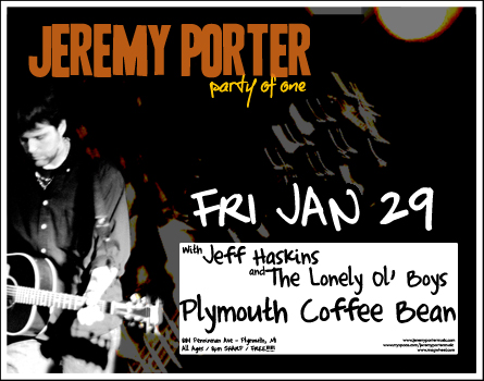 Poster for 01.29.2010 - Plymouth, MI