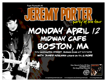 Poster for 04.12.2010 - Boston, MA