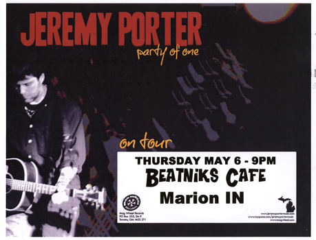 Poster for 05.06.2010 - Marion, IN