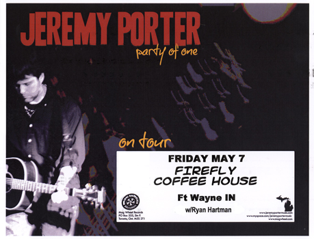 Poster for 05.07.2010 - Fort Wayne, IN