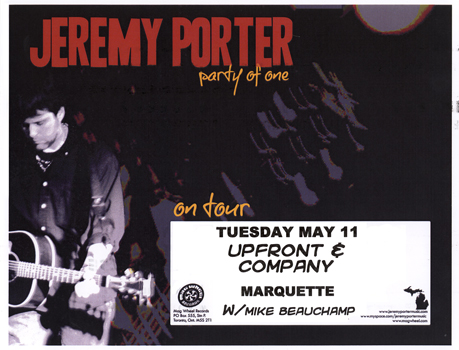 Poster for 05.11.2010 - Marquette, MI