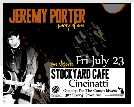 Poster for 07.23.2010 - Cincinnati, OH