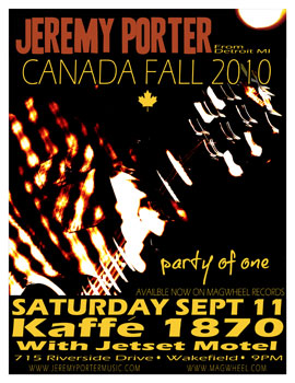 Poster for 09.11.2010 - Wakefield, QC