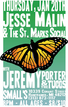 Poster for 01.20.2011 - Hamtramck, MI