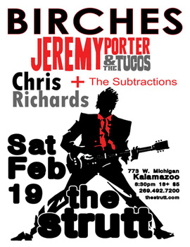 Poster for 02.19.2011 - Kalamazoo, MI