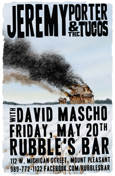 Poster for 05.20.2011 - Mount Pleasant, MI