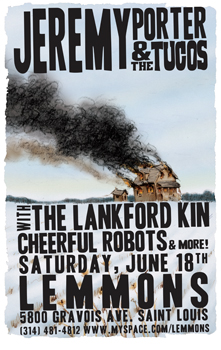 Poster for 06.18.2011 - St. Louis, MO
