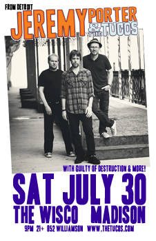 Poster for 07.30.2011 - Madison, WI