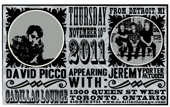 Poster for 11.10.2011 - Toronto, ON