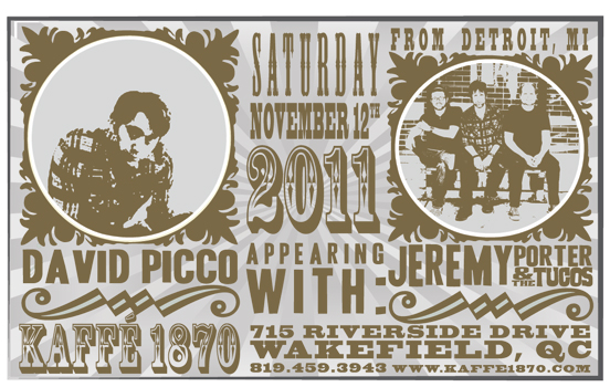 Poster for 11.12.2011 - Wakefield, QC