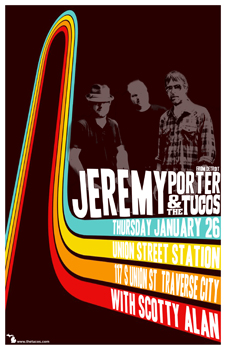 Poster for 01.26.2012 - Traverse City, MI