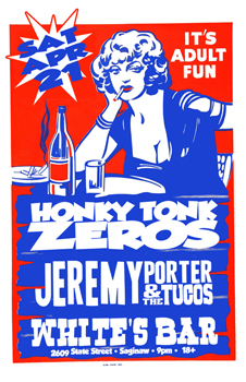 Poster for 04.21.2012 - Saginaw, MI