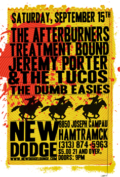 Poster for 09.15.2012 - Hamtramck, MI