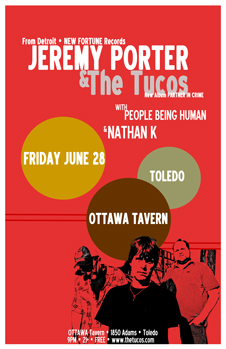 Poster for 06.28.2013 - Toledo, OH