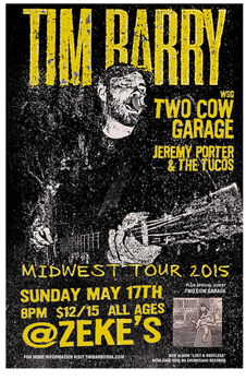 Poster for 05.17.2015 - Ferndale, MI