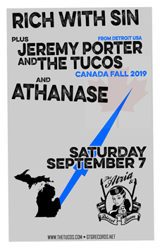Poster for 09.07.2019 - Oshawa, ON