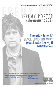 Poster for 06.17.2021 - Round Lake Beach, IL