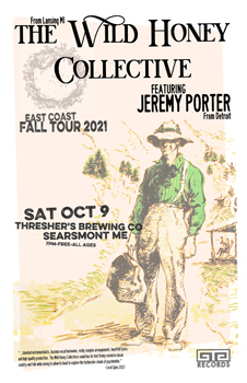 Poster for 10.09.2021 - Searsmont, ME