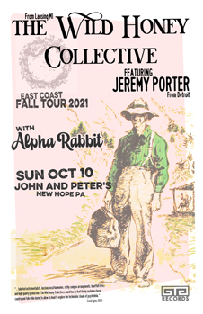 Poster for 10.10.2021 - New Hope, PA
